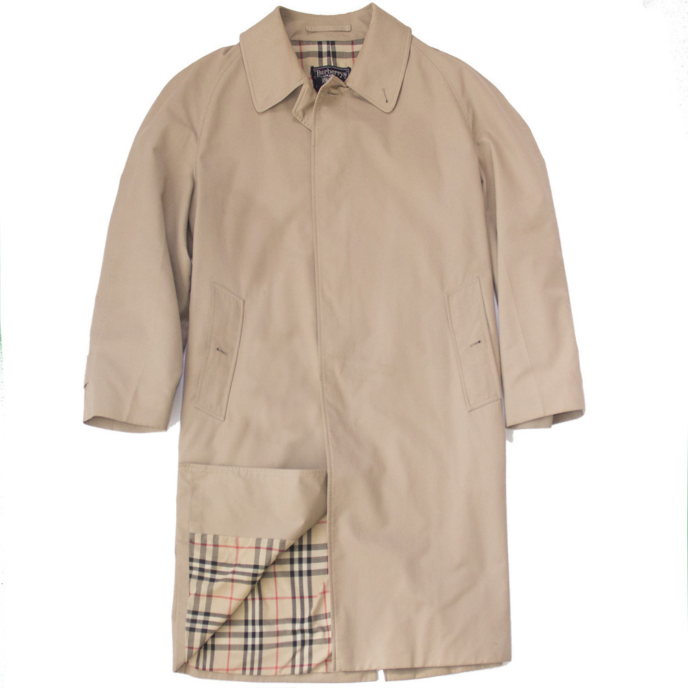 Burberry lightweight cotton car coat