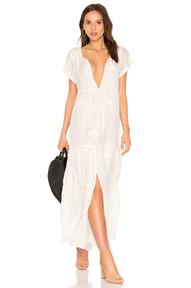 Sundress x Collage Vintage Nora Dress in white