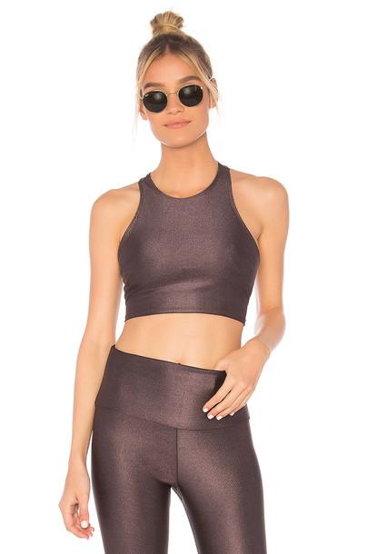 Onzie bra sports bra purple underwear