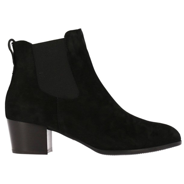 Hogan booties shoes women shoes booties black