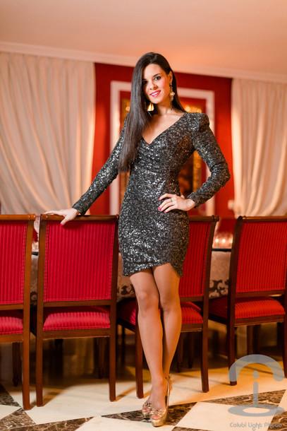 crimenes de la moda blogger sparkly dress new year's eve pumps party dress
