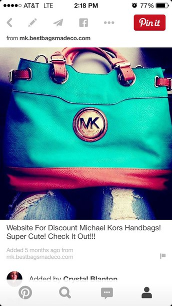 8cc8ff7a58b87 Buy michael kors turquoise bag   OFF74% Discounted