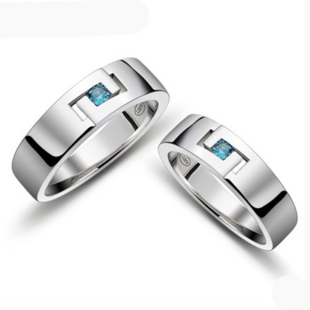 Jewels: his and hers rings, matching wedding bands, engagement ...