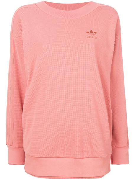 Adidas - Adidas Originals sweatshirt - women - Cotton - 44, Pink/Purple, Cotton
