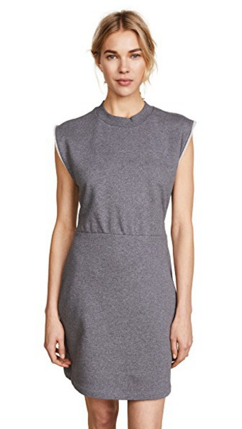 T by Alexander Wang dress charcoal