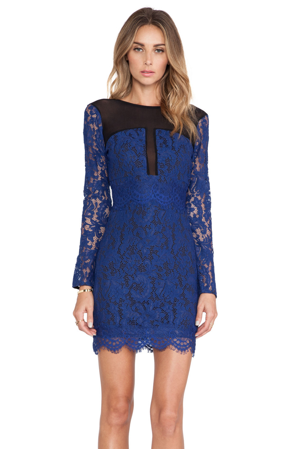 aafb1798f2ce X by NBD Gio Dress in navy - Wheretoget