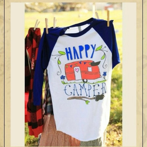 Happy Camper Sweater