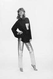 shirt,sale,ssense,metallic,pants,sandals,silver,loewe,28719