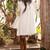 Boho Goddess Lace Bell Sleeve Dress
