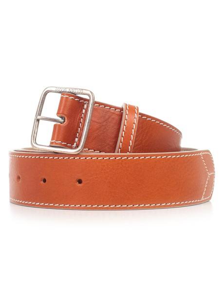 Golden Goose Deluxe Brand Equipage Belt in tan