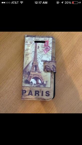 phone cover paris phone iphone flip case cover