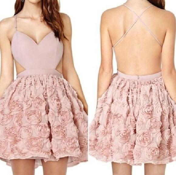 floral dress pink dress pink roses