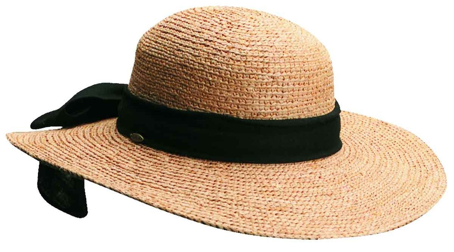 a0923821afe79 Scala Collezione Women s Raffia Bow Hat BEIGE O S at Amazon Women