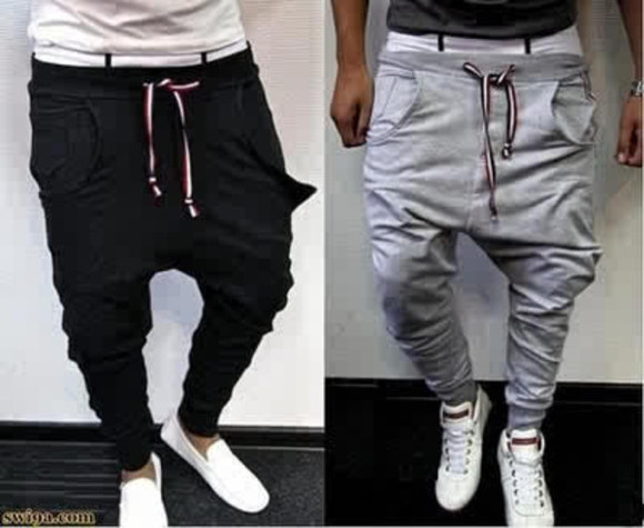pants sweatpants jeans swag greyy Baggy baggy pants