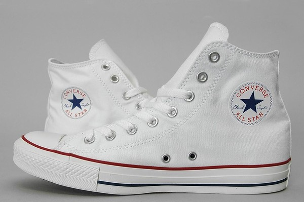 how to clean white part of converse