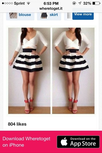 dress striped dress black dress white dress shirt