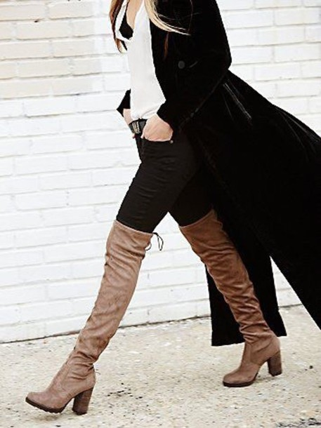 shoes over the knee boots boots heel boots
