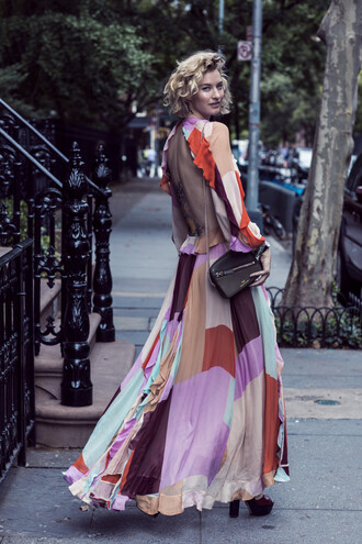 zanita blogger dress bag shoes
