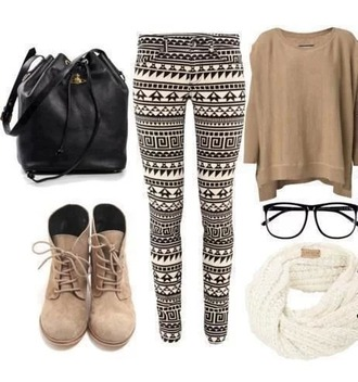 blouse combinaison leggings