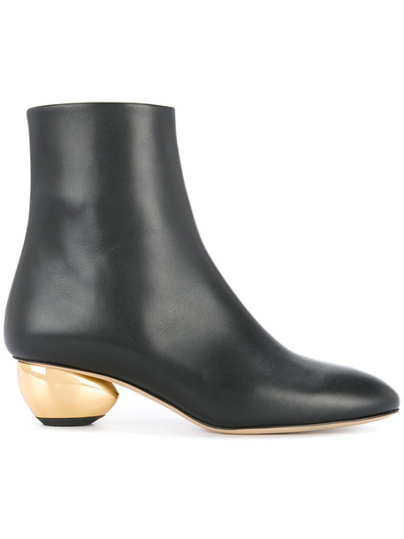 Paul Andrew women leather black shoes