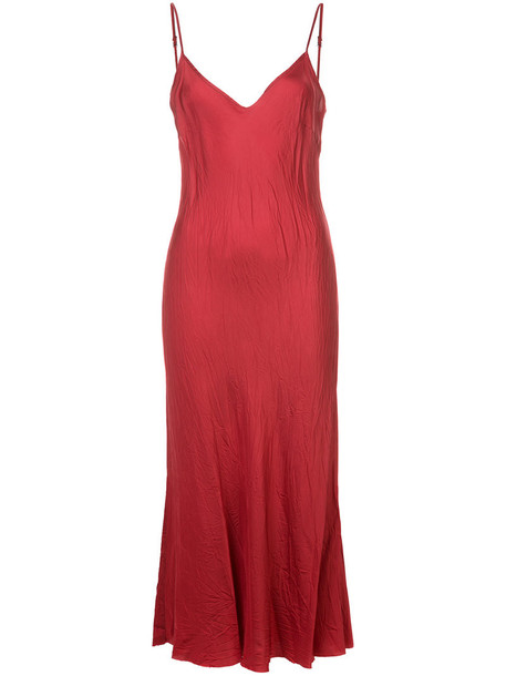 Organic by John Patrick dress slip dress long women red