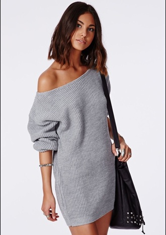 dress grey grey sweater