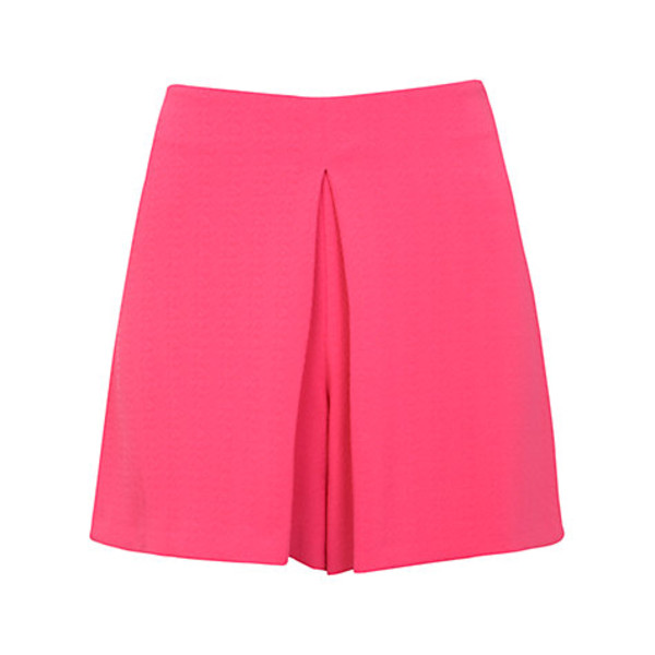 shorts miss selfridge flippy shorts flippy shorts pink