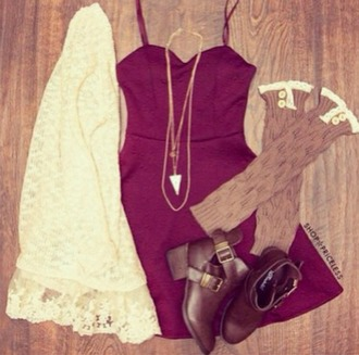 dress burgundy bustier dress sexy cute