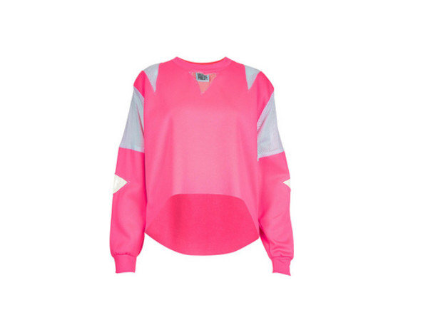 sweater pink grey white