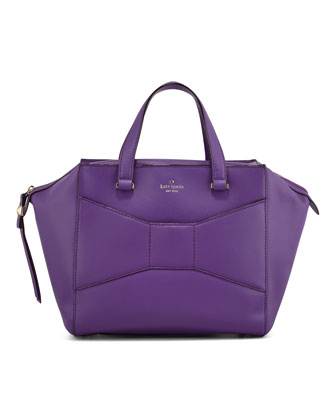 kate spade new york 2 park avenue beau shopper tote bag, purple - Neiman Marcus