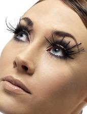 feathers,feather eyelashes,white eyelashes,white feathers,dreamy,special,eyelashes,false eyelashes,halloween makeup,halloween accessory,halloween costume
