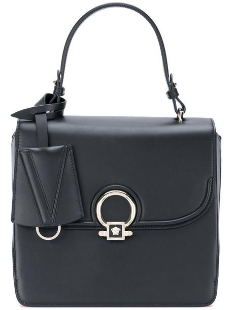 women bag tote bag leather black