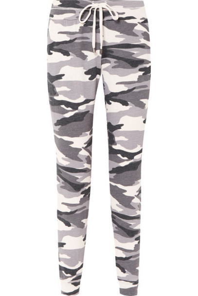 Splendid pants track pants camouflage print