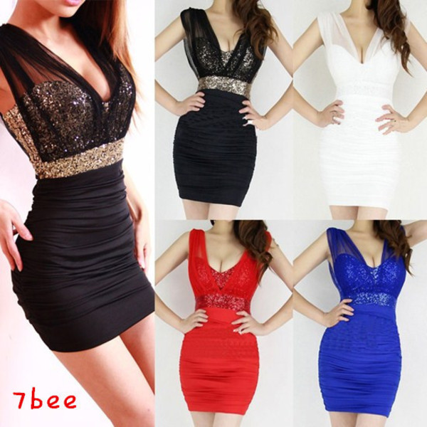 dress tight cute ebay gold little black dress should i get it