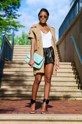 the daileigh jacket t-shirt shorts bag shoes sunglasses
