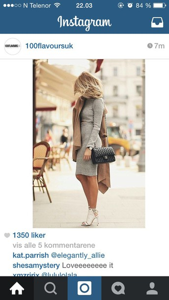 dress grey top gray top dress gray skirt shoes