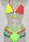 Bandage bikini round chest swim suit a bathing suit i