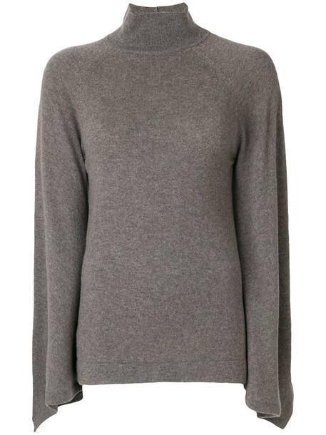 PRINGLE OF SCOTLAND jumper turtleneck women grey sweater