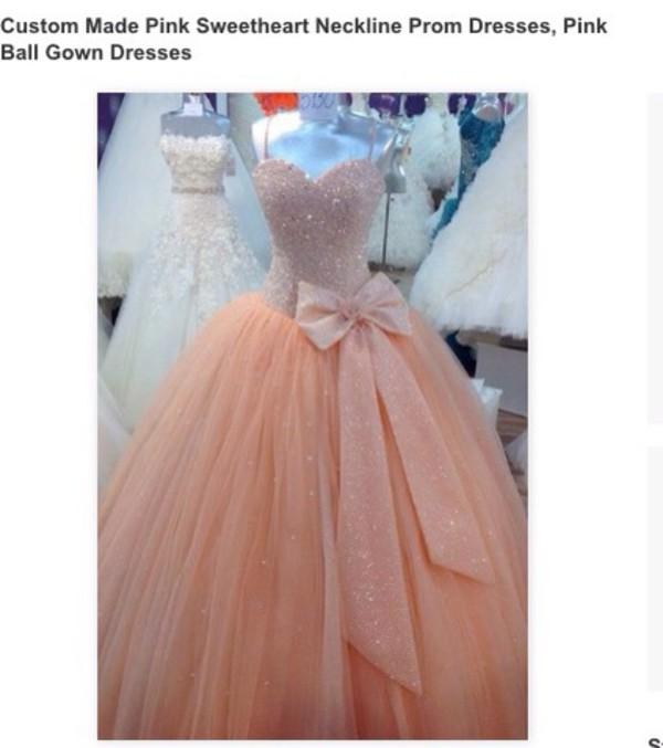 dress, prom, prom dress, pink, pink dress, sparkle, dream, princess ...