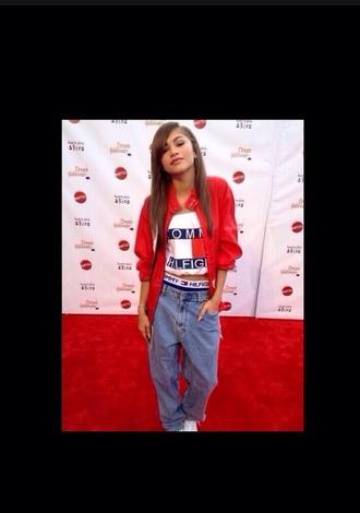 jeans hipster zendaya zendaya coleman blue pants