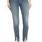 Frame raw hem high waist skinny jeans (beckett)   nordstrom