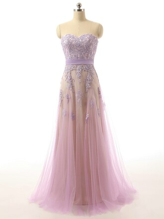 dress prom prom dress light light purple violet maxi maxi dress sweetheart dress floral tulle dress special occasion dress dressofgirl bridesmaid lace lace dress fashion fashion week style stylish love wow cute cute dress sexy sexy dress long long dress pretty
