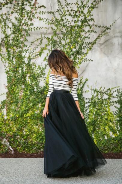 dress black dress striped dress newbieee