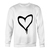 Love white Sweatshirt - teenamycs