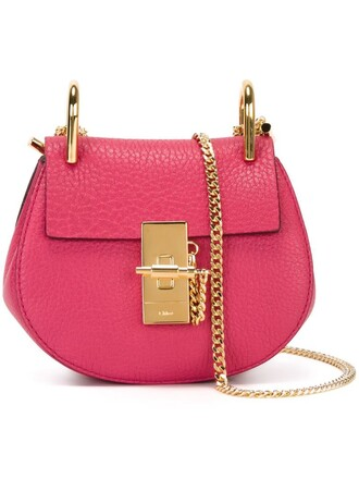 bag crossbody bag purple pink