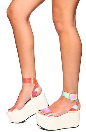 UNIF Shoes Spacer Platforms in White -  Karmaloop.com