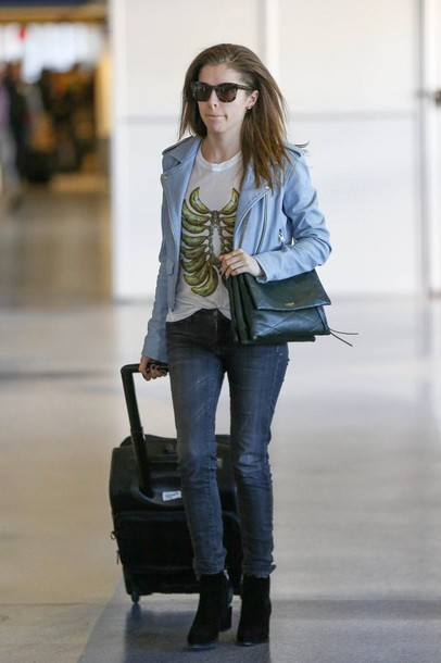jacket anna kendrick jeans ankle boots