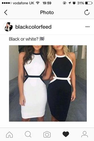 dress black dress white dress monochrome love cute elegant elegant dress sisters