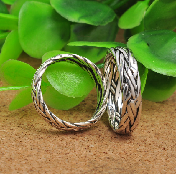 Men And Women 925 Silver Ring - Wishbop.com