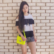 bag,yellow,neon,crossbody bag